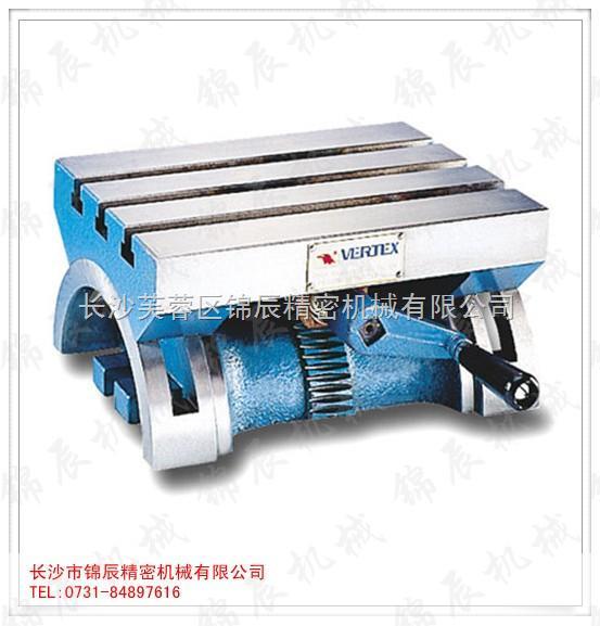镗床,钻床,锯床和磨床等机床的主要附件之一, 工作台面在 -45°,范围