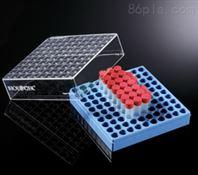 巴罗克biologix 1.0ml预置2D码冻存管(红色盖子)+2英寸蓝色冻存盒