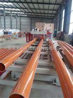 80/156锥形双螺杆挤出pvc电力管管材挤出机生产线供应