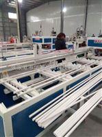 pvc16-75张家港市华德机械pvc16-75一出二pvc双管扩口机管材生产线辅机
