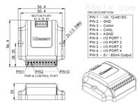 UIM620微型高性能步進電機控制驅動器-帶諧波