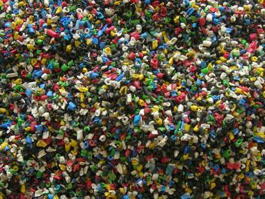扬村的废品回收加工点